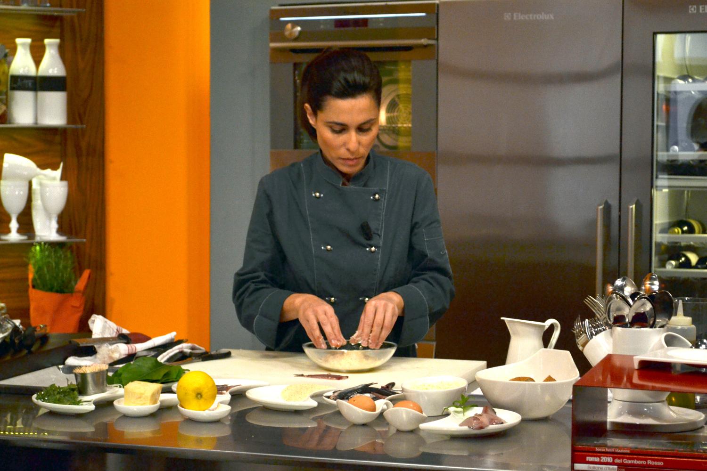 alessia vicari, il fascino in cucina - live sicilia - Scuola Di Cucina Gambero Rosso