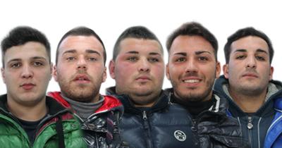 aggressione, locale, malviventi, palermo, piazza unità d'italia, polizia
