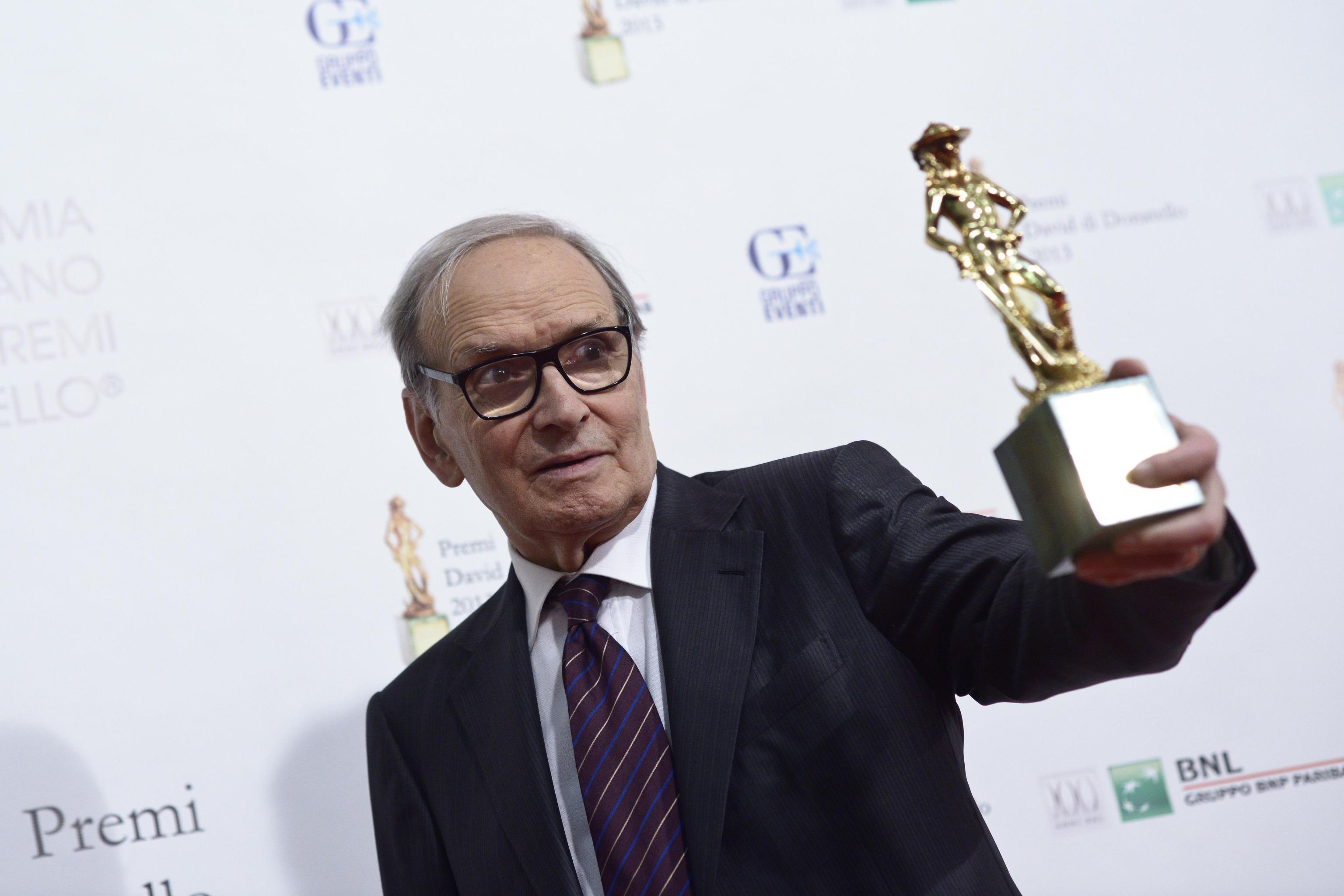 Golden Globe a Ennio Morricone. Tarantino