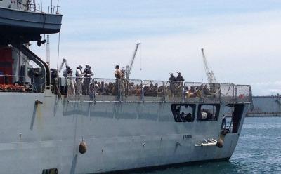 Migranti, 990 giunti a Palermo