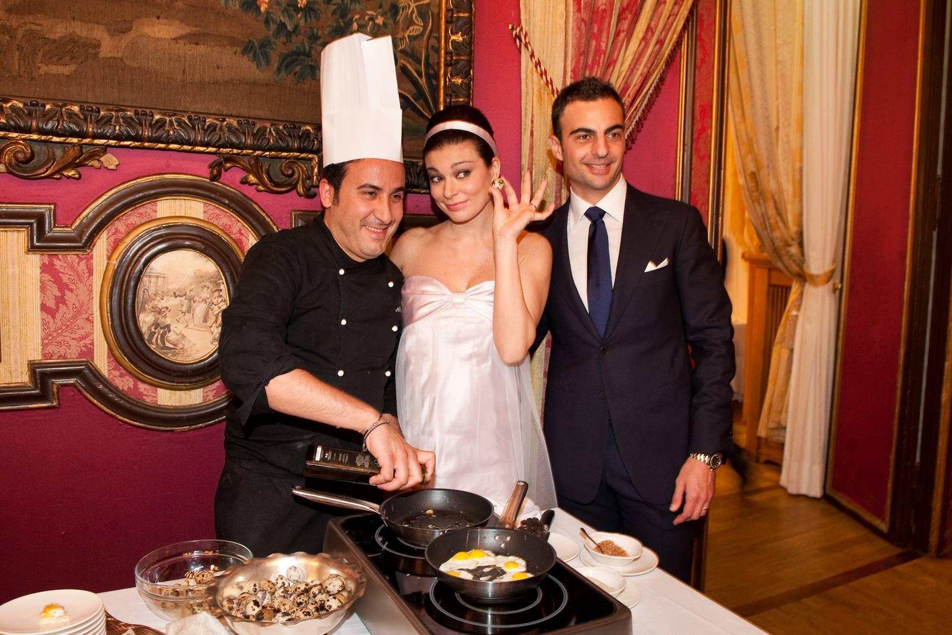 Matrimonio Natale Giunta : Lanfranchi e salvaggio quot notte magica alla cala live sicilia