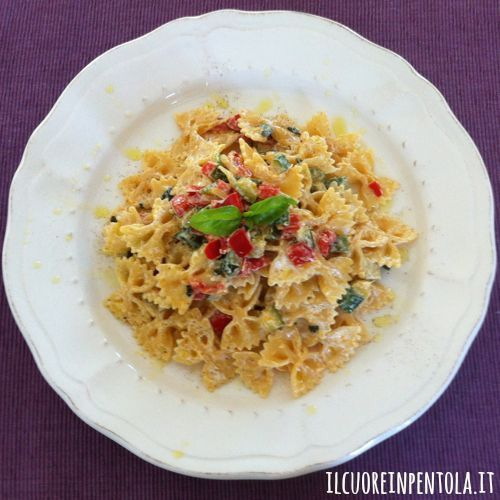 ricetta del giorno: pasta con yogurt e verdure - live sicilia - Pasta Veloce Da Cucinare