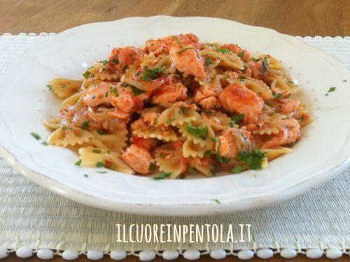 Ricetta del giorno pasta con salmone fresco live sicilia