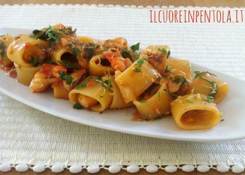 Ricetta Del Giorno Pasta Ai Frutti Di Mare Live Sicilia