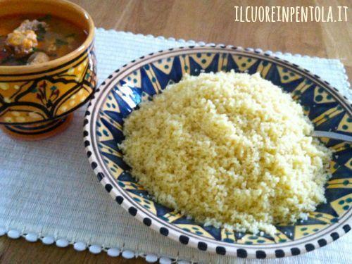 Ricetta del giorno cucinare il cous cous live sicilia for Cucinare cous cous