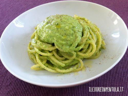 Ricetta del giorno pasta con crema di zucchine live sicilia for Cucinare le zucchine