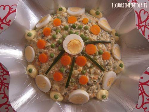 Ricetta del giorno insalata russa live sicilia for Cucina russa