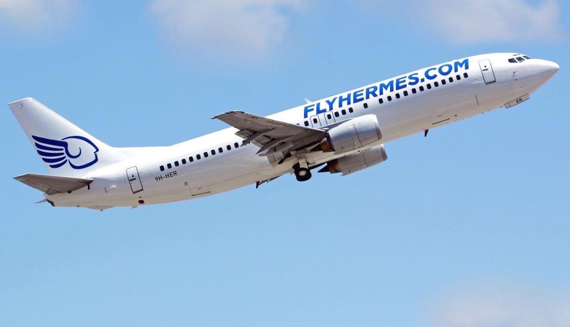 Fly Hermes, passeggeri a terra Cancellati altri due voli - Live ...