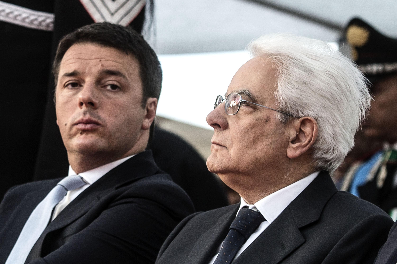Tutti Con Mattarella E Un Po Con Renzi Live Sicilia