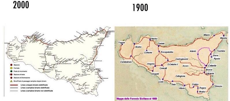 Cartina Ferroviaria Sicilia.Ferrovie Il Tavolo Per Le Imprese Troppe Teste E Nessuna Regia Live Sicilia