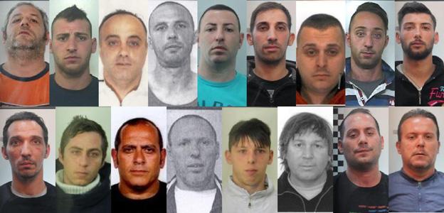 Furti nei negozi blitz allo zen scattano 17 arresti i for Negozi di arredamento catania