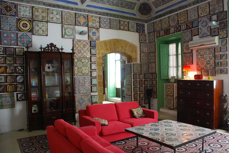 Adotta una maiolica stanze al genio apre le porte live sicilia