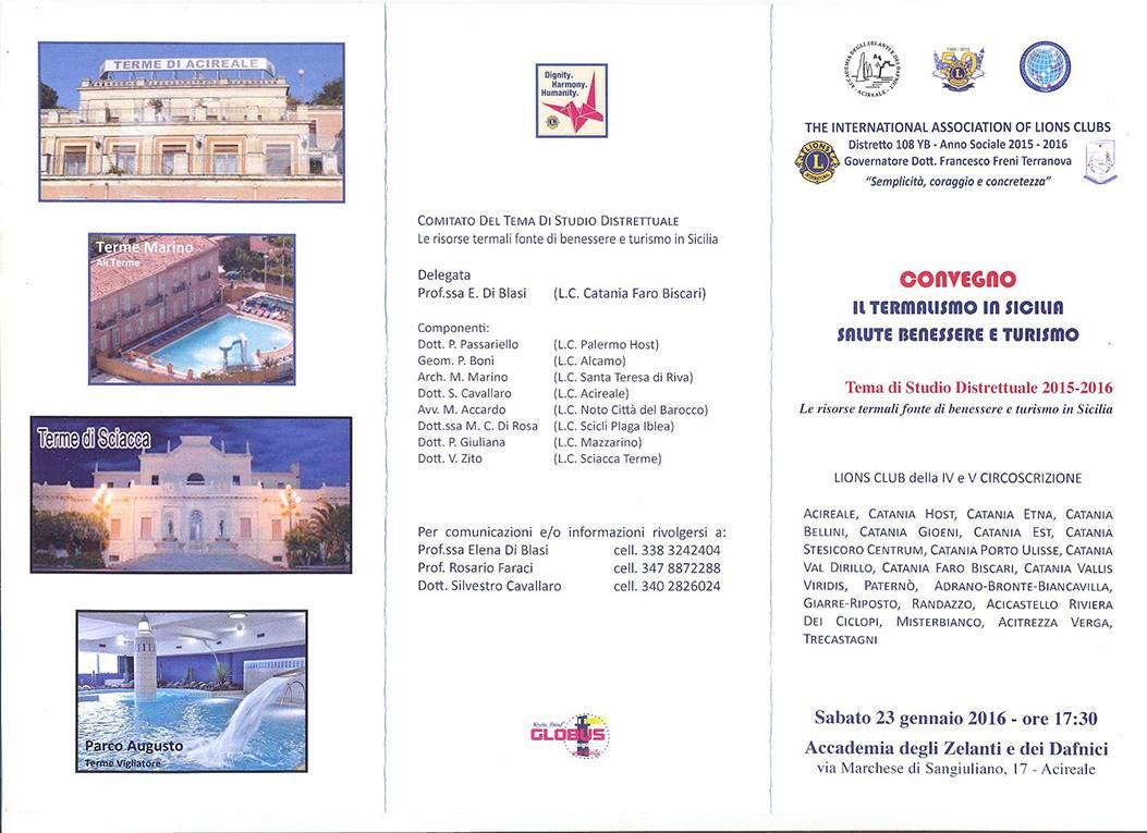 Il Termalismo In Sicilia Occasione Da Non Perdere Live Sicilia