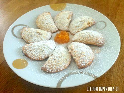 Biscotti Di Natale Con Marmellata.Ricetta Del Giorno Biscotti Di Pasta Frolla Ripieni Di