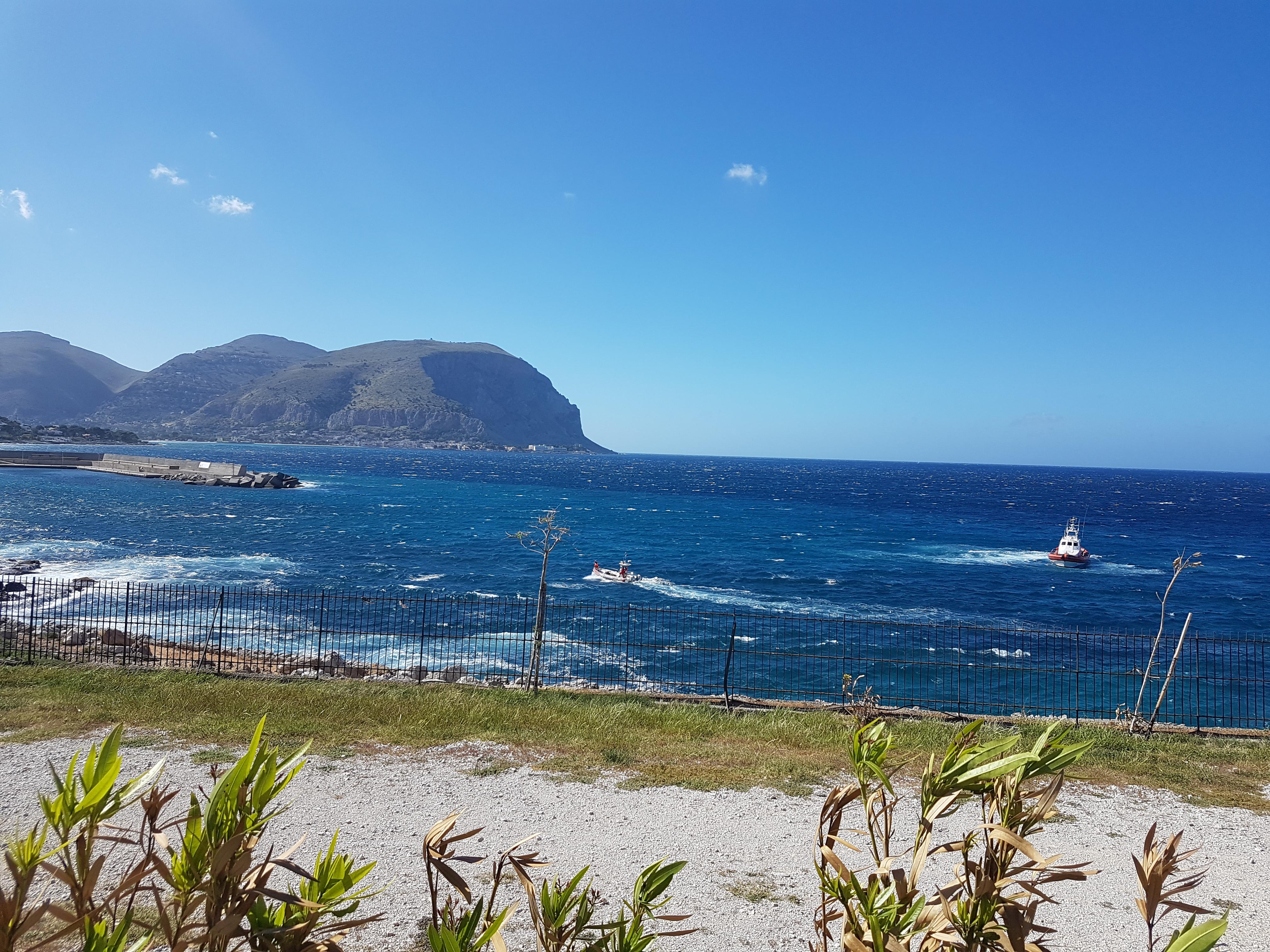 Palermo, disperso in mare: ricerche da due giorni
