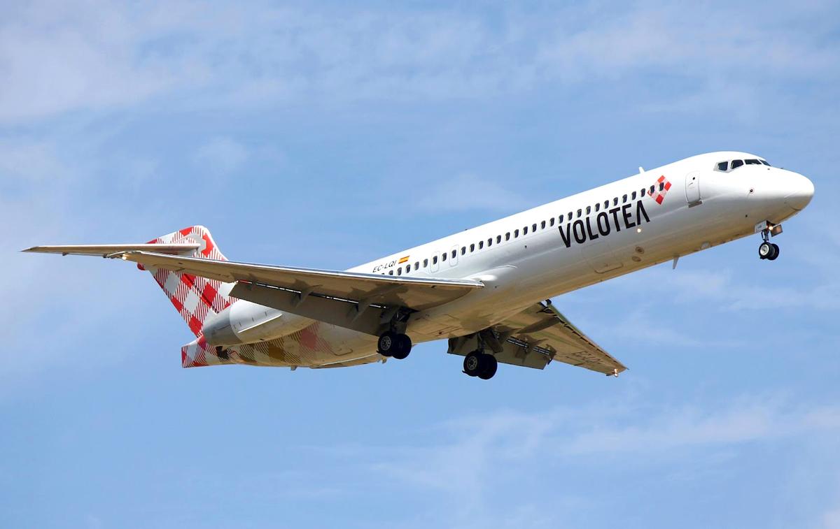 Volotea, nuovi voli da Palermo per Malaga e Corfù