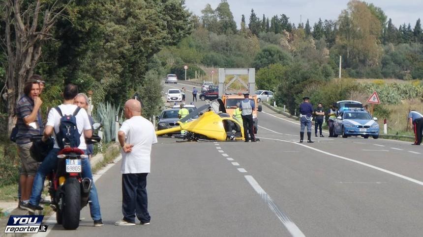 Elicottero Incidente : Elicottero cade sulla statale video live sicilia