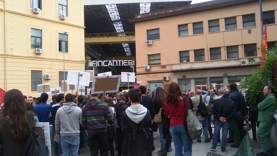 Renzi contestato a Palermo: una agrigentina portavoce dei precari siciliani
