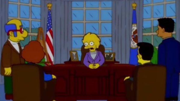 Trump Presidente: I Simpson lo avevano predetto nel 2000