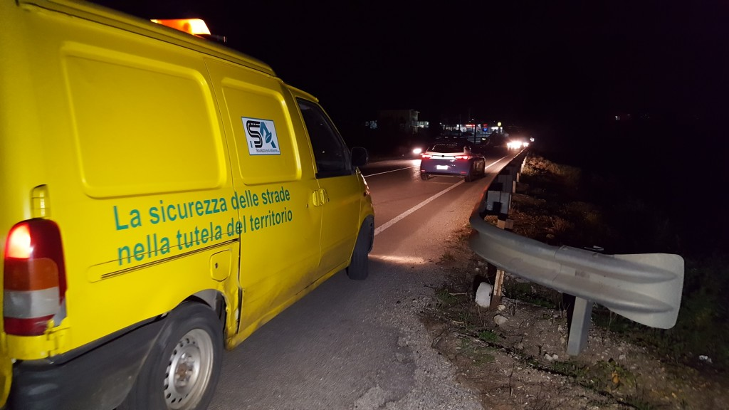 Con la moto contro un camion, le immagini dell'incidente mortale vicino Partinico