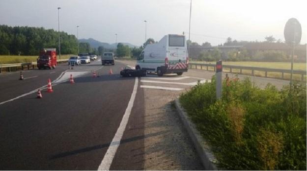 Torino. Incidente in Corso Sacco e Vanzetti morto un centauro