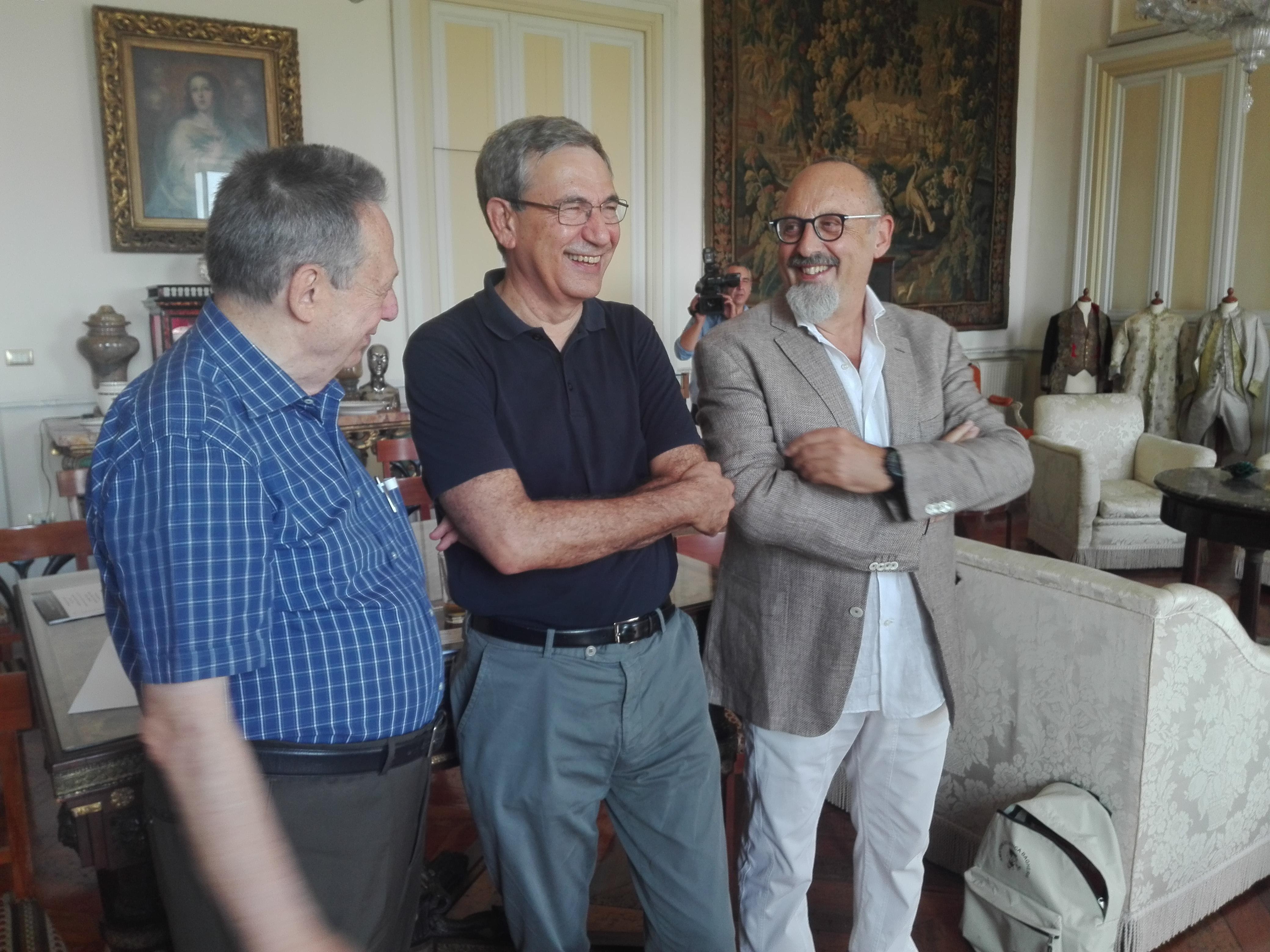 Orhan pamuk a palermo pensando alla sua turchia live sicilia for Scrittore di lampedusa