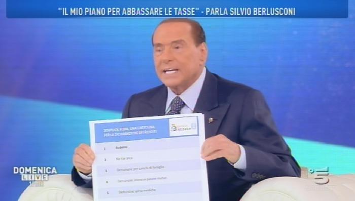 Berlusconi in tv la promessa via le tasse dalla prima - Tasse compravendita prima casa ...