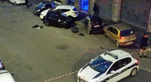 Muore alla guida del camion si schianta su dieci auto for Piazza balduina