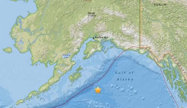 Registrato al largo dell'Alaska il sisma fa tremare l'intera costa occidentale americana