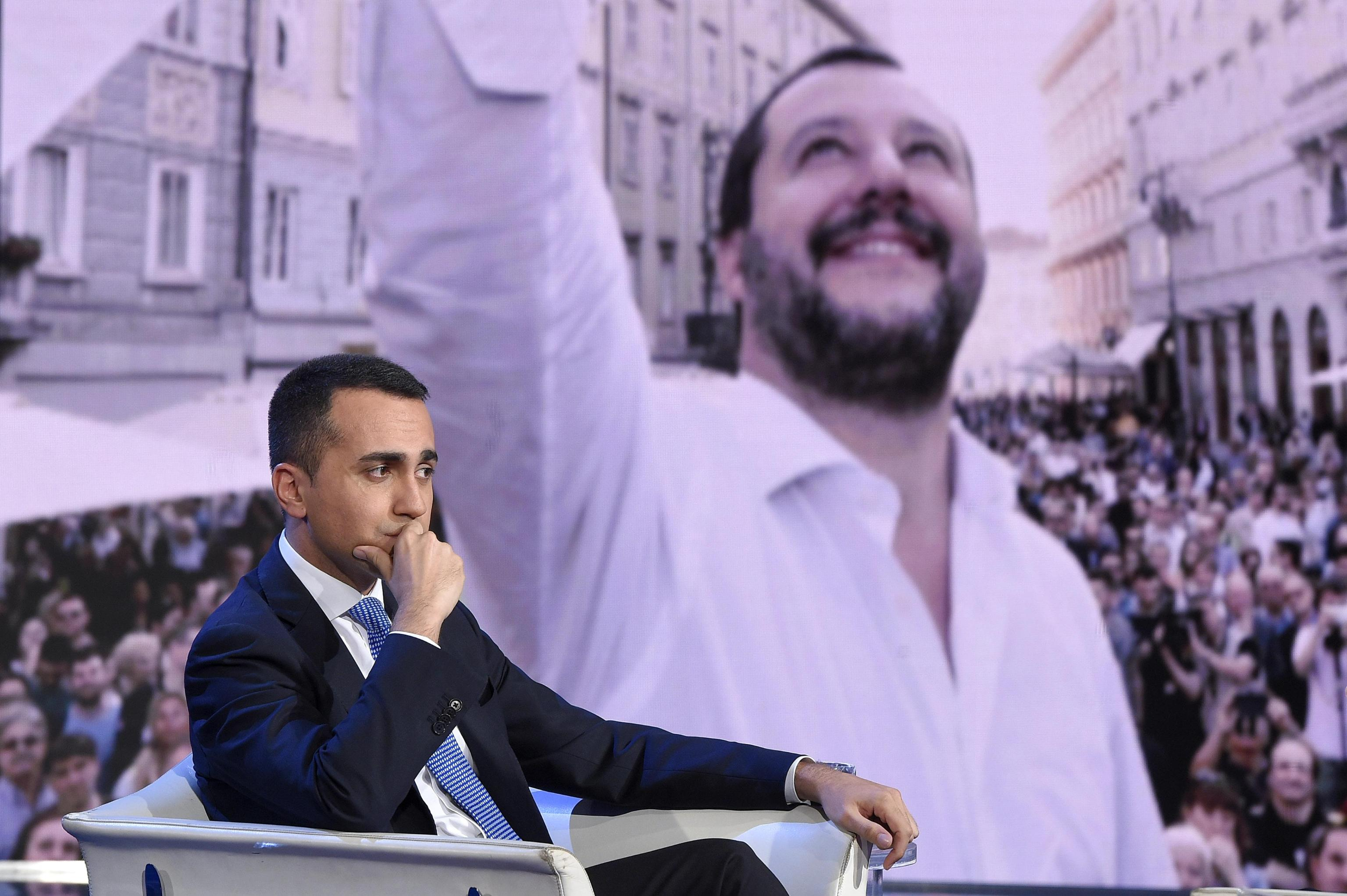 Image result for salvini di maio