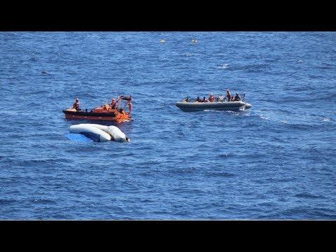 Migranti, nave Usa con 12 cadaveri: