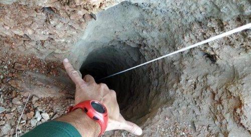 Bimbo nel pozzo a Malaga: