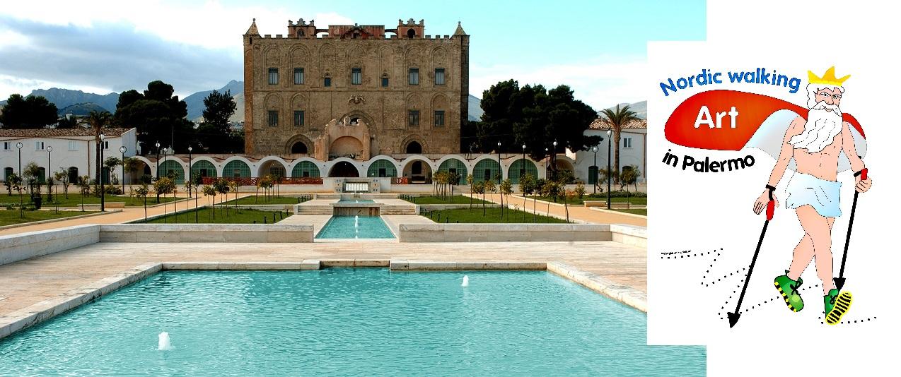 Letto A Castello Palermo.Al Castello Della Zisa Con Il Nordic Walking Live Sicilia