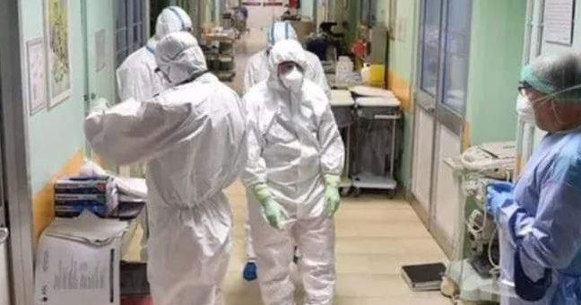 coronavirus, nella foto un reparto anti covid