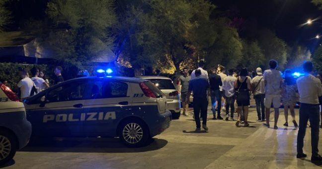 Polizia e assembramenti