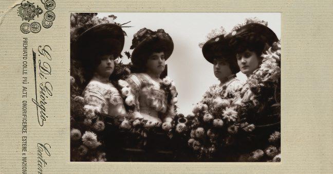 Le sorelle Leotti, archivio Di Giorgio per LiveSicilia.