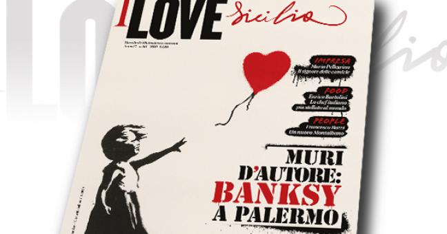 Bansky su I love Sicilia