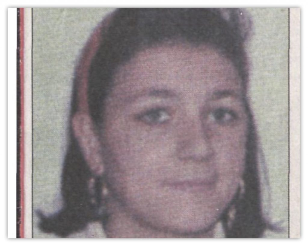 Annalisa Isaia, 1998.