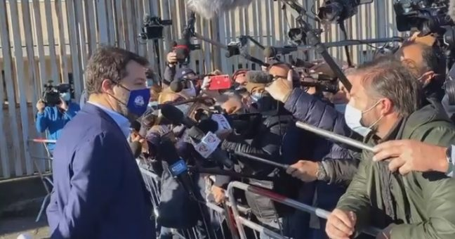Gregoretti: udienza Gip Catania, Lamorgese depone come teste - Sicilia