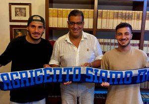 Akragas, ufficiali i primi due acquisti: tesserati Azzara e Corso