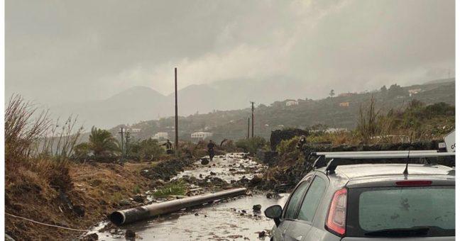 Pantelleria tromba d'aria vigile del fuoco