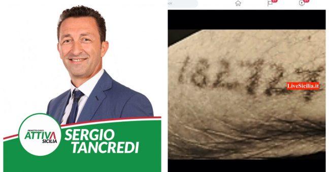 Sergio Tancredi no vax post tatuaggio livesicilia